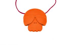 Jellystone skull oranje