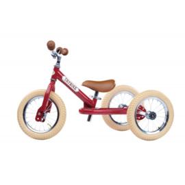 Trybike 2-in1 retro red fiets