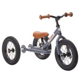Trybike 2-in-1 steel grijs fiets