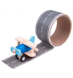 transport tape met vliegtuig