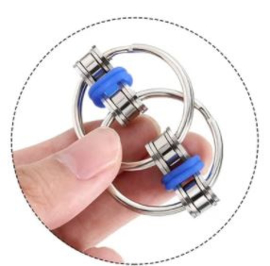 fidget flip chain