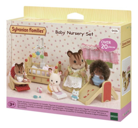 Sylvanian baby nursery set 5436