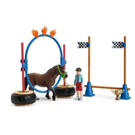Schleich agility training race 42482
