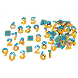 SCRATCH magnetische cijfers
