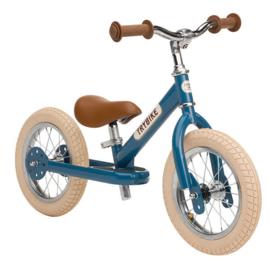 Trybike retro blue fiets