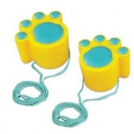 kattenpoten geel HAPE E4013