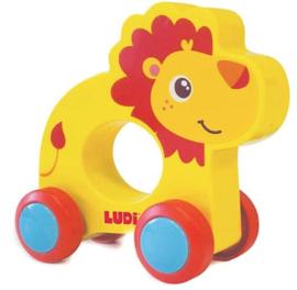 LUDI leeuw op wieltjes 30031