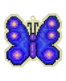 vlinder hout ww117