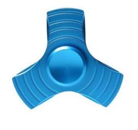 fidget spinner aluminium blue