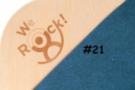 we-rock Classic #21 petrol blauw