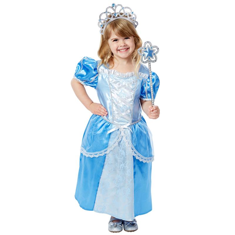 set prinses blauw