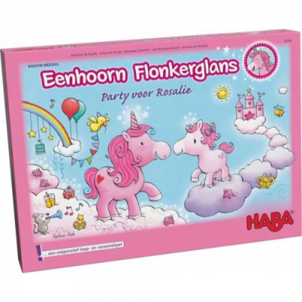 +4j Eenhoorn Flonkerglans party  HABA 302769