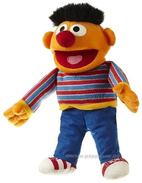 Sesamstraat Ernie handpop 35 cm S700
