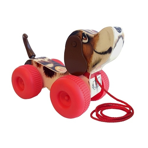 Fisher Price trekhond Snoopy