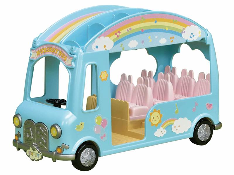 Sylvanian regenboog babybus 5317