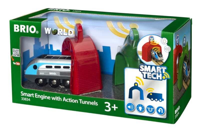 BRIO SMART action locomotief 33834