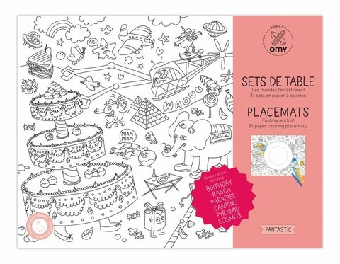 OMY inkleur placemats