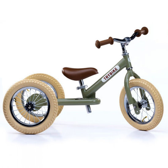 Trybike 2-in-1 retro green fiets