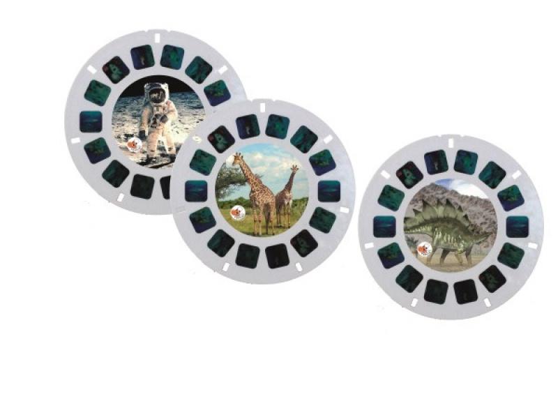 discs retro viewer ruimte