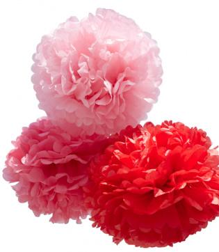 pom rouge knutselpakket