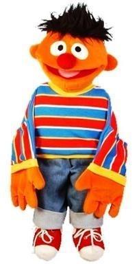 Sesamstraat Ernie 65 cm