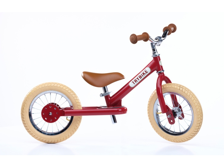 Trybike retro red fiets