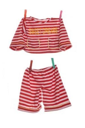 pyjama strepen 65 cm W586