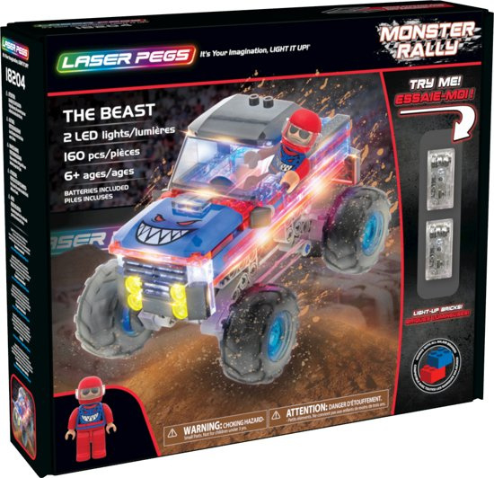 Laser Pegs Monster ralley 18202