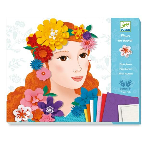 DJECO Meisjes met bloemen DJ09439