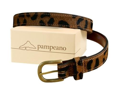 Polo belt LEOPARD (cowhide)