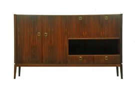 Sixties rosewood highboard