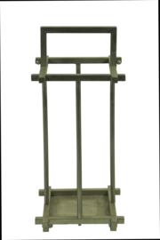 Art Deco metal umbrella  stand