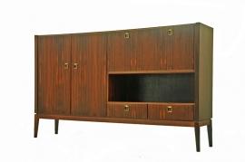 Sixties rosewood highboard