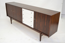 Rosewood sideboard made by dutch brand Fristho in the 70's