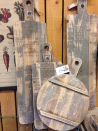 Grote houten serveer Tapas plank