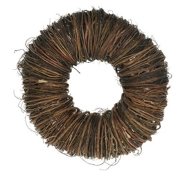 Krans twig wreath  45 naturel