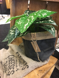 Jute plantenbag 15