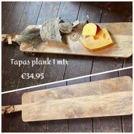 Tapas serveerplank Mango hout 1 meter