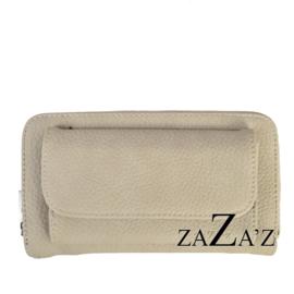 Zaza's Portefeuille met telefoonvakje Taupe
