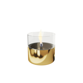 Tenderflame Lilly Gold glas 10cm