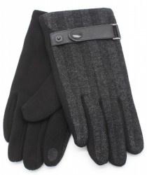 Handschoen voor de Man Dark Grey/ Donker grijs