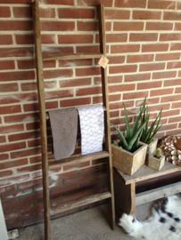 Houten ladder / trapje 150 cm
