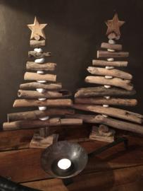 Kerstboompje Driftwood