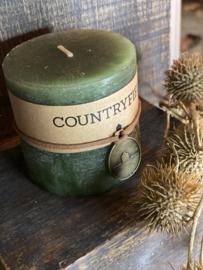 Countryfield kaars Green