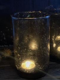 Windlicht Bubbeltjes glas