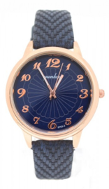 Horloge / Watch Rosé Gold Bleu