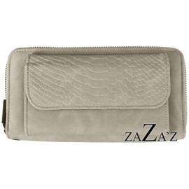 Zaza's Portefeuille met telefoonvakje Grijs Grey