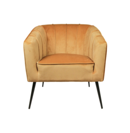 HSM Lounge stoel Mosterd geel