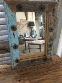 Spiegel oud hout