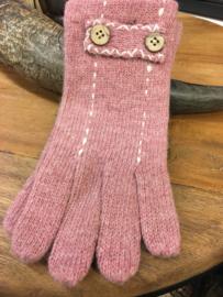 Handschoenen Oud Roze